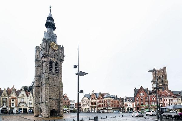 Beffroi de Béthune dans le Pas-de-Calais