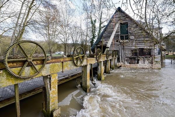 Moulins de la Fontaine La Rochette