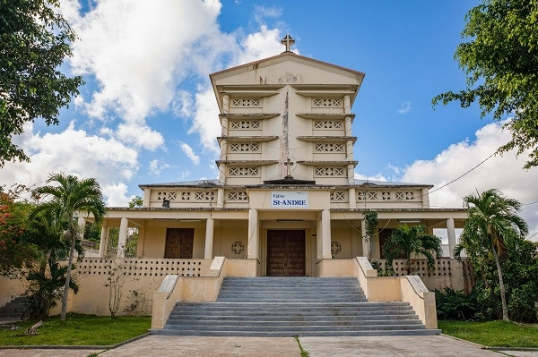 Eglise de Morne-a-l'Eau en Guadeloupe
