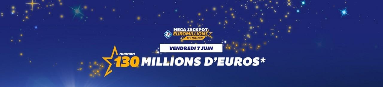 méga jackpot du vendredi 7 juin 2019