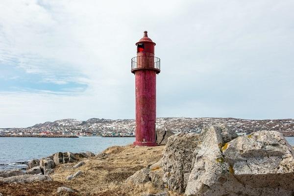 Phare de l'île aux marins de Saint-Pierre-et-Miquelon