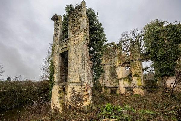 Ruines du Château de Létanduère aux Herbiers