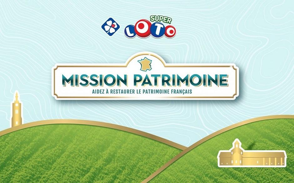 Super Loto Misssion Patrimoine 2019 : dimanche 14 juillet 2019