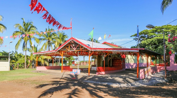 Les temples tamouls de l'île de la Réunion