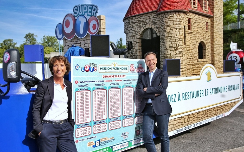Super Loto du Patrimoine au Tour de France