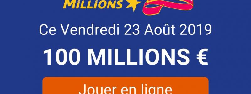 jouer euromillions vendredi 23 aout 2019
