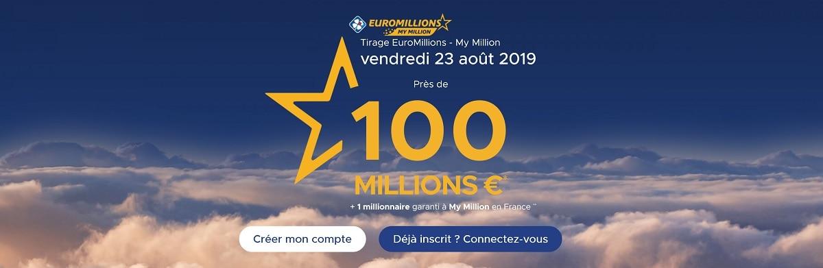 jouer au super tirage Euromillions du vendredi 23 août 2019