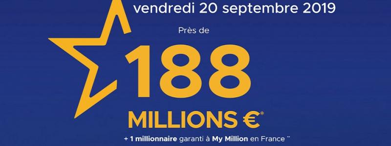 comment jouer euromillions vendredi 20 septembre 2019