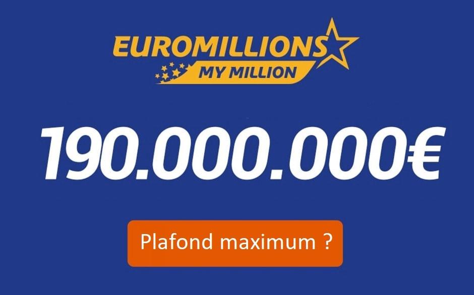 Euromillions : combien de remises en jeu du jackpot