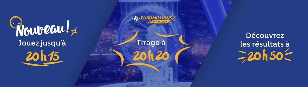 horaire des tirages Euromillions de ce vendredi 13 sepembre 2019