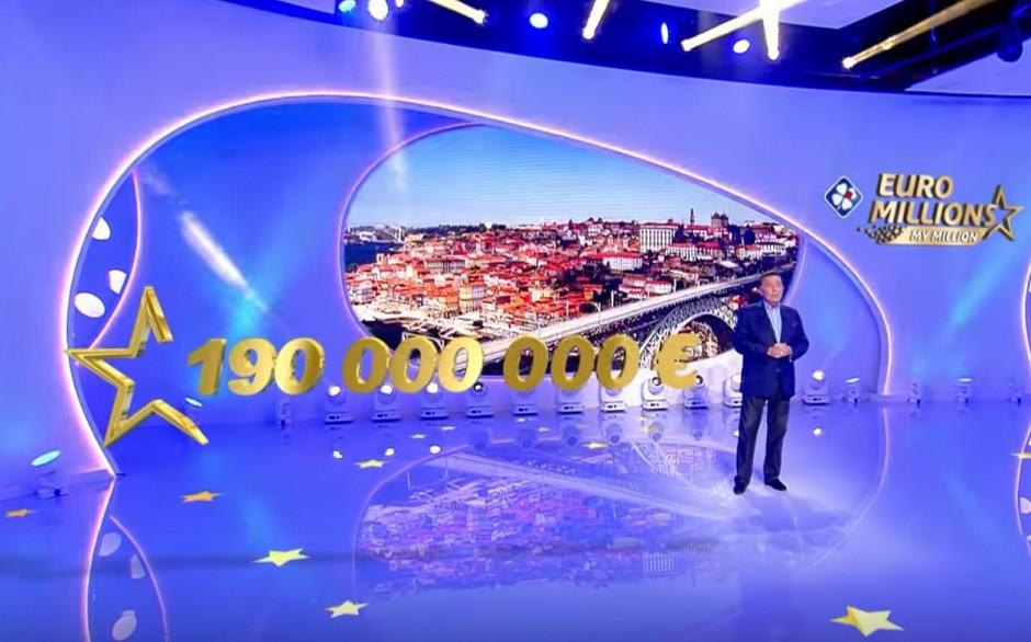 jackpot plafond de l'Euromillions et ses 190 millions d'euros