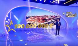 jackpot plafond euromillions 190 millions euros
