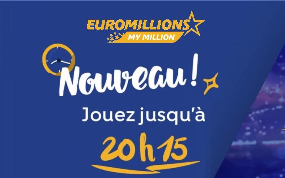 quelle heure jouer euromillions ce vendredi 13 septembre 2019
