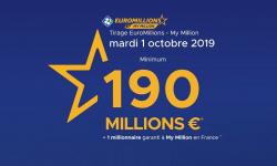 euromillions des millionnaires mardi 1er octobre 2019