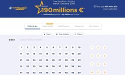 jouer une grille euromillions mardi 1er octobre 2019
