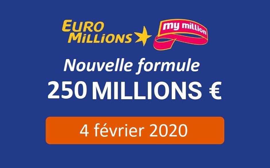Euromillions 2020 : un jackpot jusqu'à 250 millions d'euros
