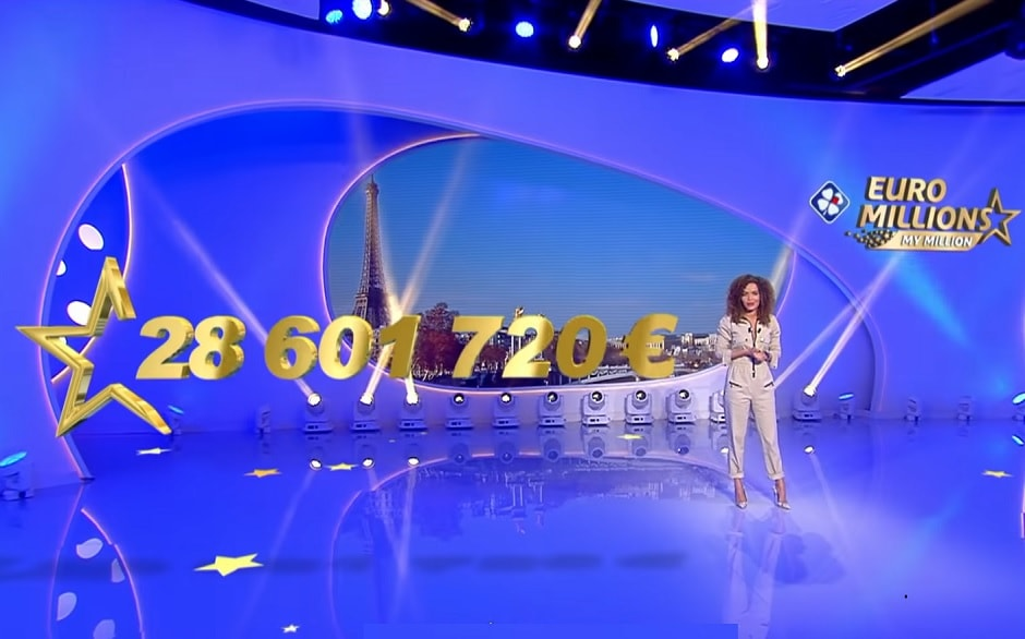 Jackpot Euromillions de 28 millions d'euros