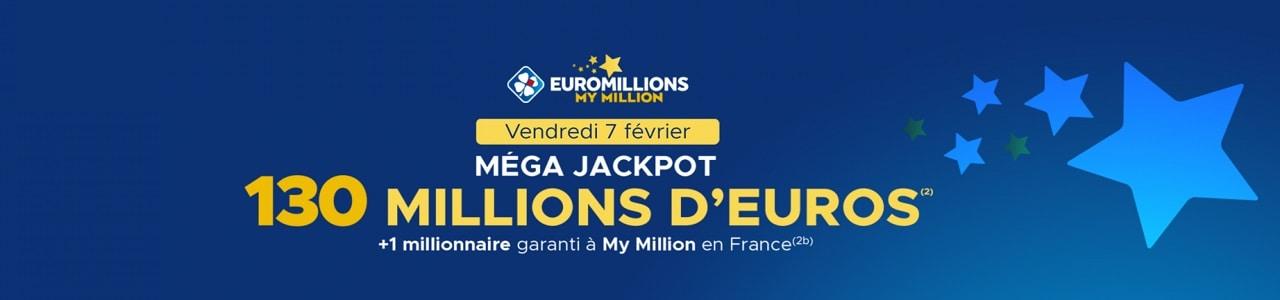 super jackpot Euromillions du 7 février 2020