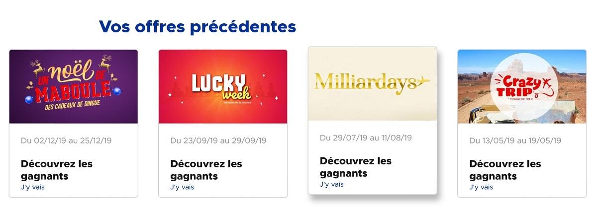 offre promotionnelles FDJ.fr