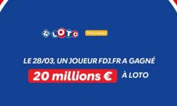 Loto FDJ : un internaute remporte le jackpot de 20 millions d'euros, 2e plus gros gains internet