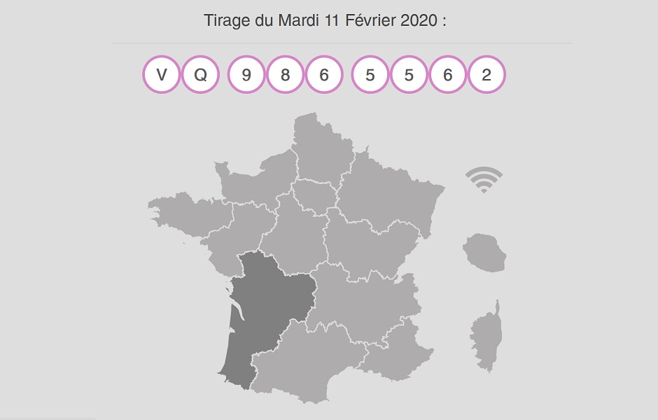 Gagnant My Million au Taillan-Médoc en Gironde