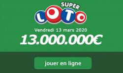 Super Loto du Vendredi 13 mars 2020 : comment participer au tirage aujourd'hui ?