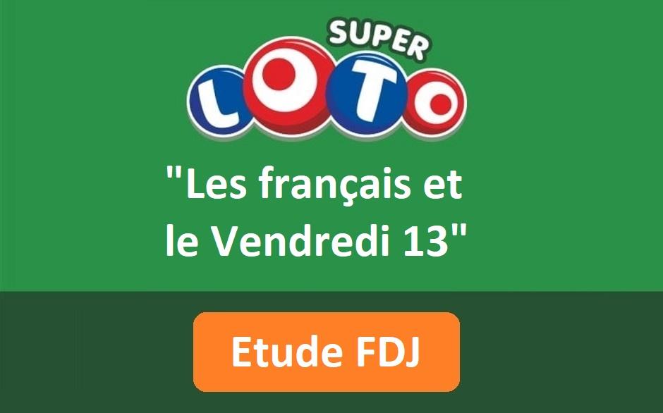 Etude FDJ : les français et le vendredi 13