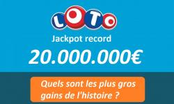 Loto FDJ de 20 millions d'euros ce soir : quels sont les plus gros gains remportés ?
