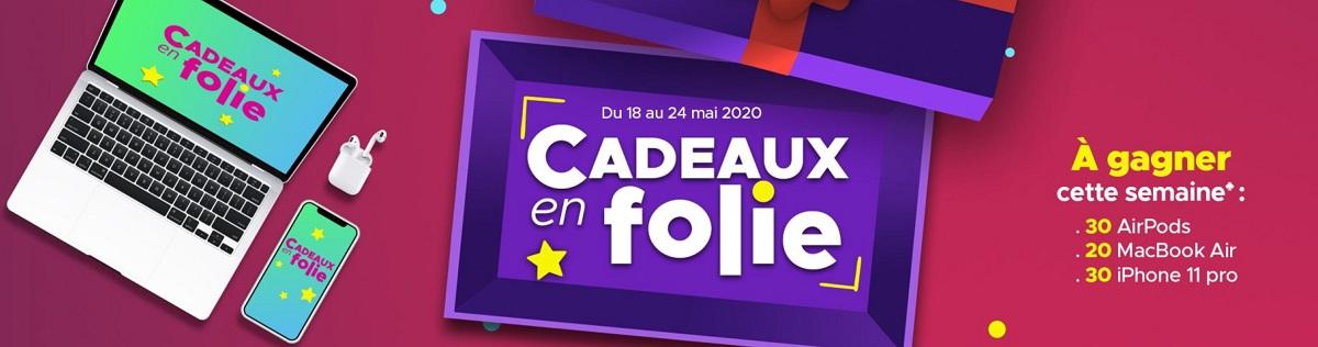 Cadeaux en Folie : l'opération FDJ.fr