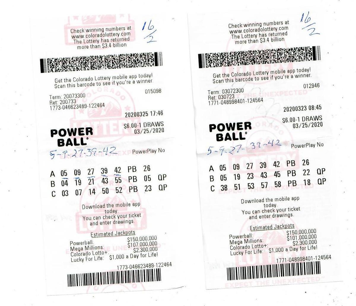 Les tickets gagnants Powerball