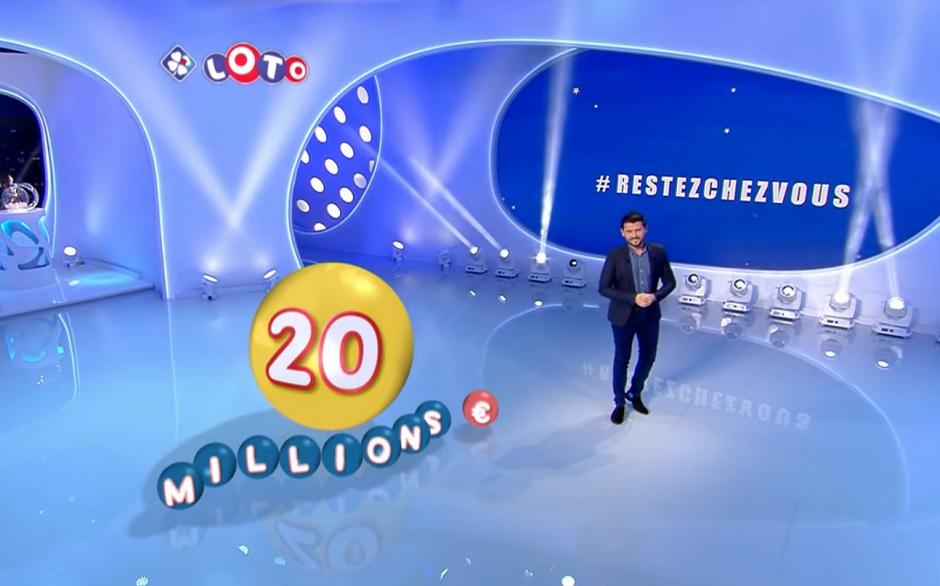 Gagnant Loto 20 millions par internet