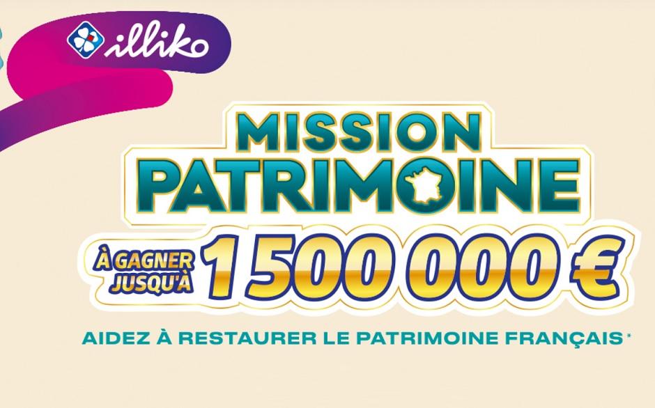 Mission Patrimoine 2020 : les offres de jeux FDJ
