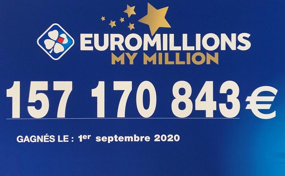 Euromillions : 157 millions d'euros remporté par un couple alsacien de Sélestat