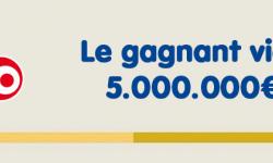 Loto : le gagnant normand de 5 millions d'euros a coché sa grille à Evreux, il a reçu son chèque