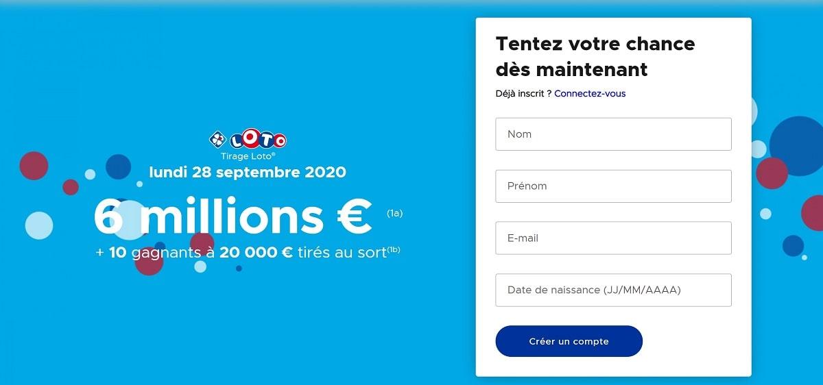 Ouvrir un compte FDJ.fr pour jouer au Loto