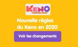Nouvelles règles du Keno FDJ : tous les changements pour les joueurs en 2020