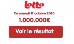 Résultat Lotto Belge du samedi 17 octobre 2020 : pas de millionnaire au tirage