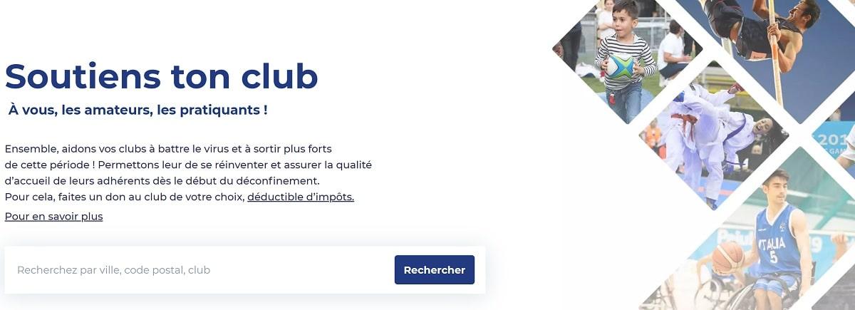 Soutien ton club : opération de la Fondation du sport français