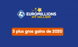 euromillions 5 plus gros gains 2020