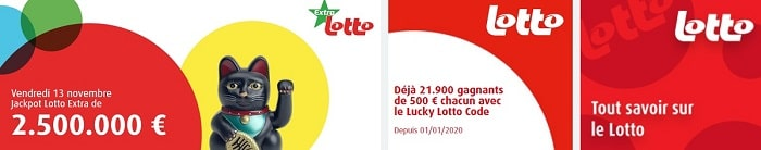 Lotto Extra en Belgique