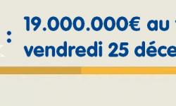 Loto de Noël : grand tirage de 19 millions d'euros minimum ce vendredi 25 décembre 2020