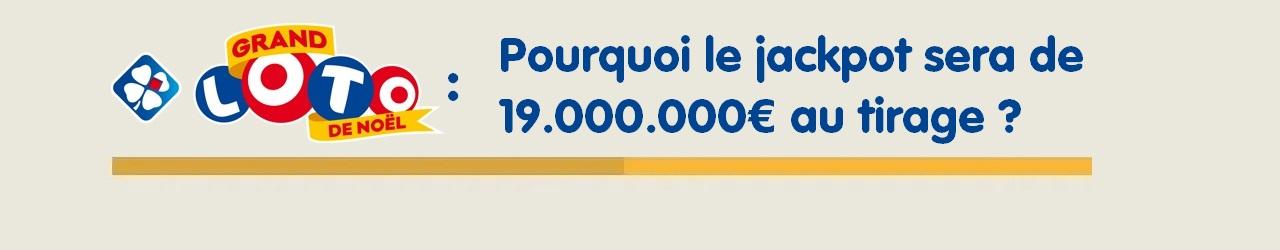 Grand Loto de Noël : jackpot de 19 millions d'euros, pourquoi ?