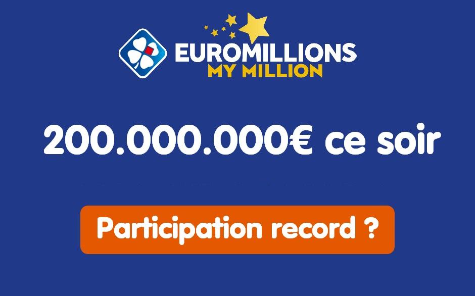 Participation au tirage Euromillions
