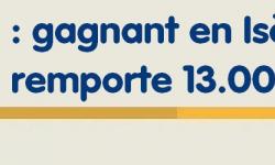 Super Loto : le jackpot de 13 millions d'euros remporté en Isère, dernier gagnant de 2020 !