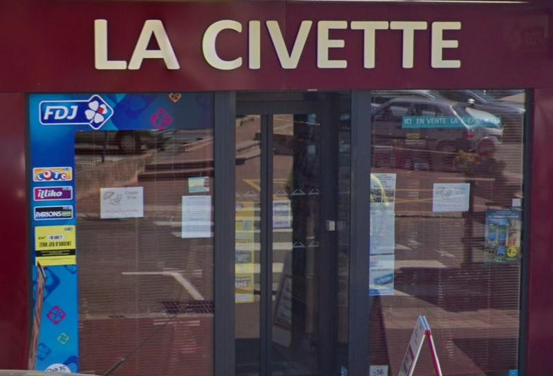 La Civette à Epernon où la grille gagnante My Million a été gagnante