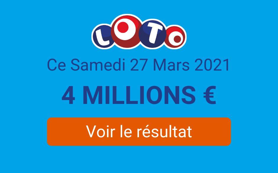 resultats loto 25 avril 2021
