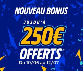 bonus de bienvenue euro 2020